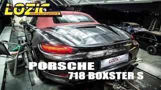 PORSCHE 718 BOXSTER S ECUtune …