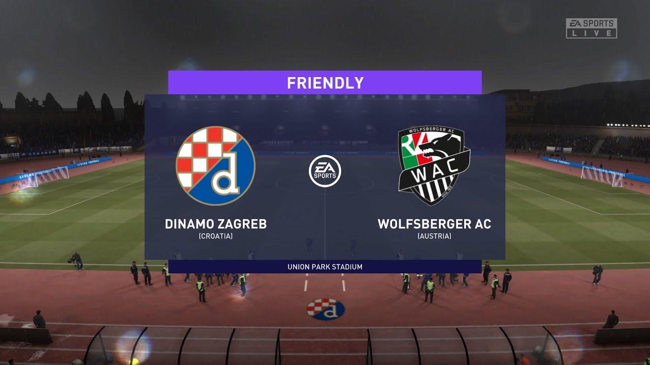 Fifa 21 Dinamo Zagreb Vs Wolfsberger Ac Uefa Europa League 05 11 2020 1080p 60fps Youtube