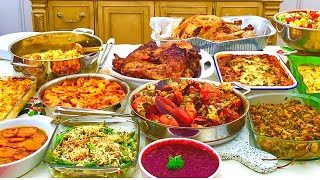 Watch how we prepare our thanksgiving feast | holiday over a period of week, from shopping, to prepping cooking. enjoy! link chopper in video: ...