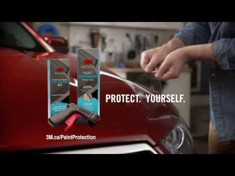 3M™ Paint Defender Spray Film: Television Commercial