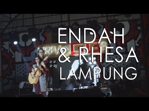 ENDAH & RHESA ( FULL LIVE IN URBAN GIGS )