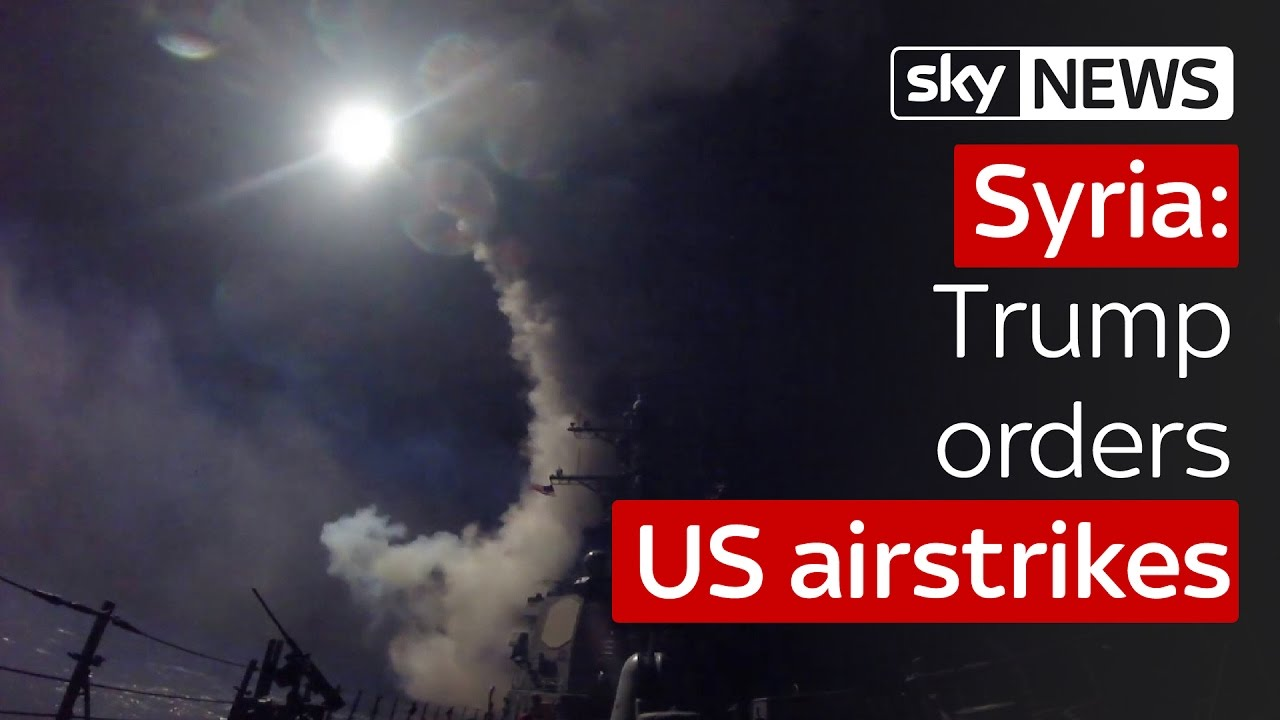 Download Donald Trump orders US airstrikes on Syria airbase after chemical attack