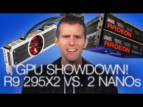 Multi-GPU Showdown: R9 295X2 Vs. Two R9 Nanos