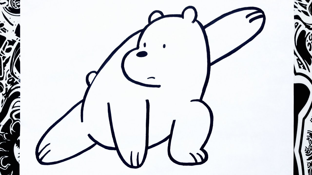 Como Dibujar A Polar De Escandalosos How To Draw Polar Bear Youtube