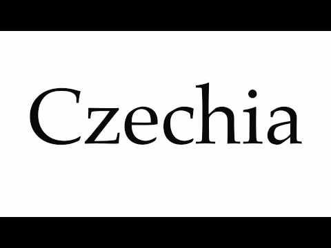 How to Pronounce Czechia