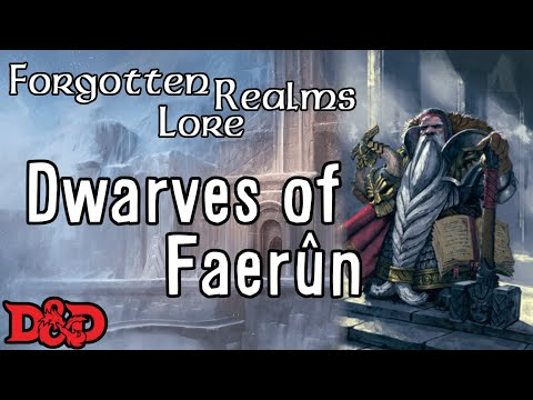 Forgotten Realms Lore - Dwarves - YouTube