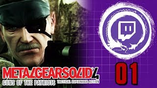 Metal Gear Solid 4: Guns of the Patriots | Metal Gear Saga Part 30 | Stream Four Star