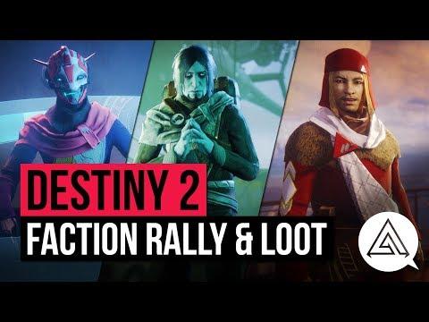 DESTINY 2 | Weekly Reset - FACTION RALLY, New Gear, Milestones & Vendor Items (September 26th)