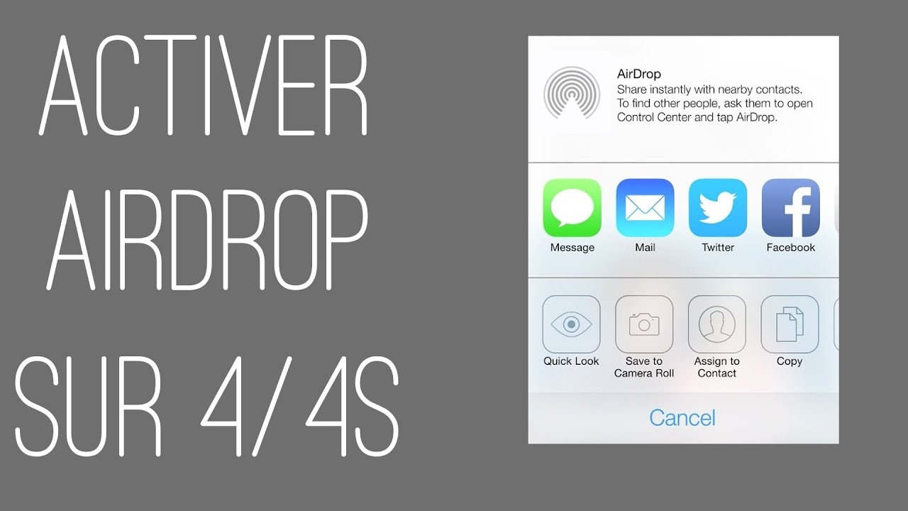 airdrop music from iphone to iphone activer airdrop sur iphone 4 4s 18282