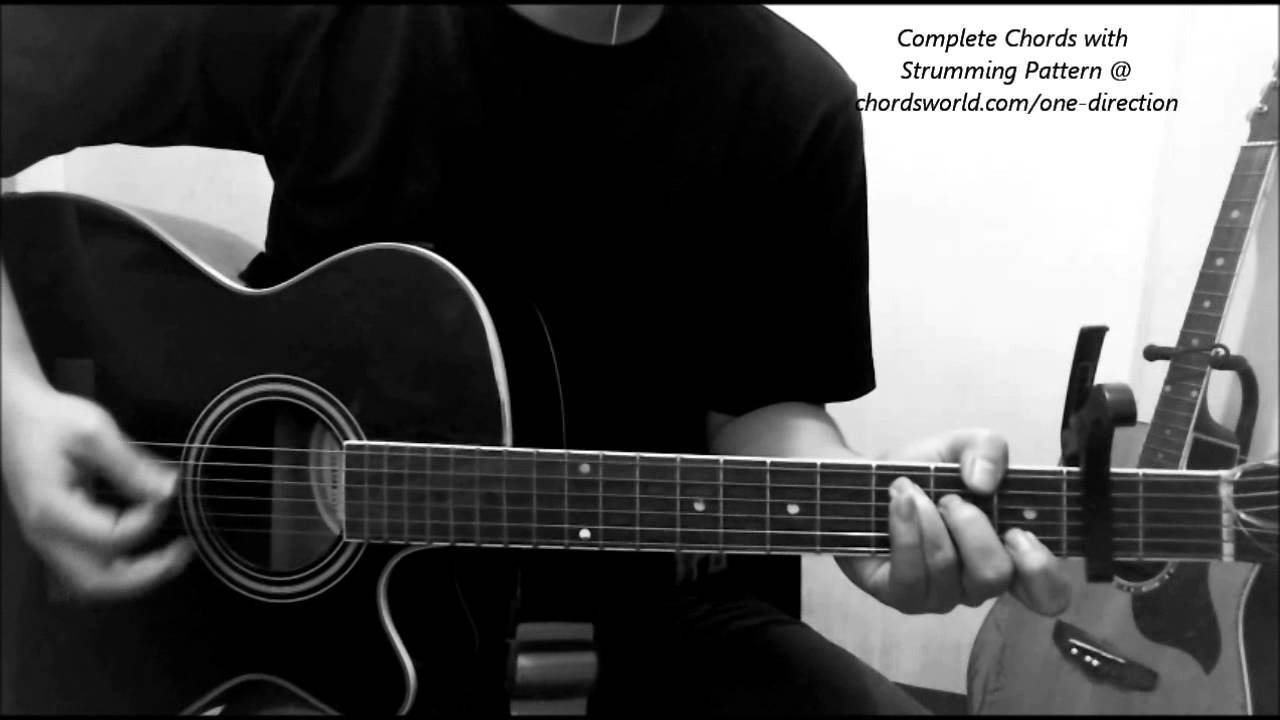 One Direction 18 Chords Youtube