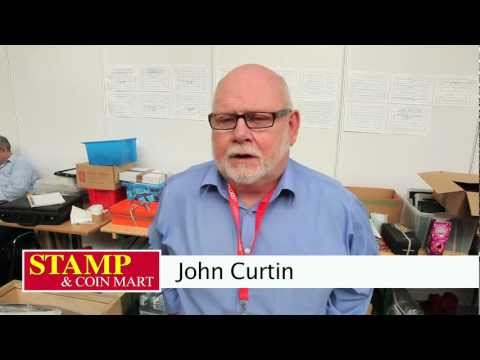John Curtin explains his experience in the stamp trade