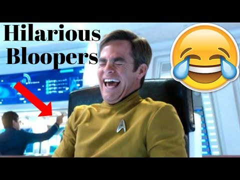 Star Trek Hilarious Bloopers 20092016 Ft. Chris Pine & Benedict Cumberbatch