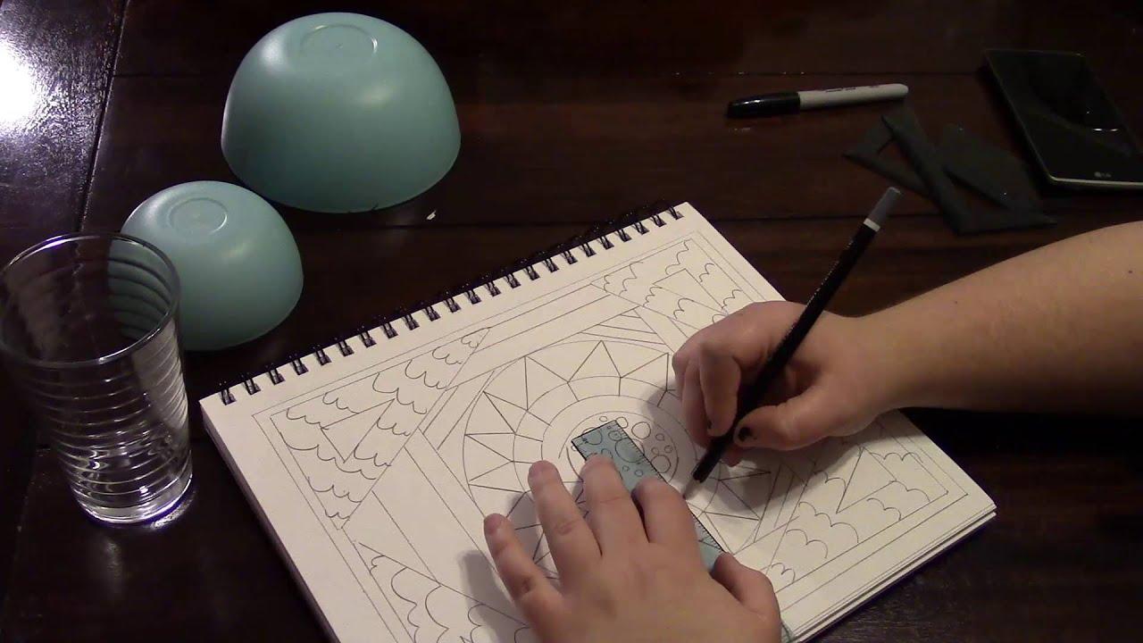 Adult Coloring Book DIY