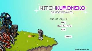 WitchKuroneko Dungeon Crawler Object Oriented Programming Final Project BINUS