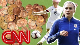 US women's soccer dominates in everything except pay