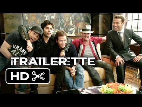 Entourage Featurette - The Cast (2015) - Adrian Grenier Movie HD