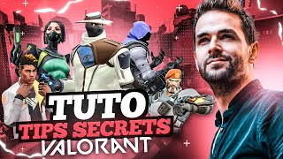 VALORANT🔥TUTO: LES TIPS SECRETS DE TOUS LES AGENTS DE VALORANT Gameplay Skyyart