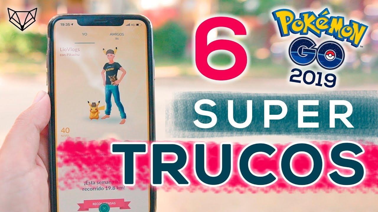 LOS 6 MEJORES TRUCOS DE POKEMON GO 2019 [LioGames]