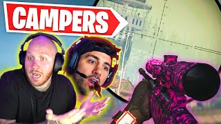 WE HAD A SNIPING BATTLE WITH TOWER CAMPERS... Ft. Nickmercs
