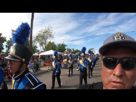 Cattle Call Parade 2019 with Brawley Union High School Wildcat's Marching