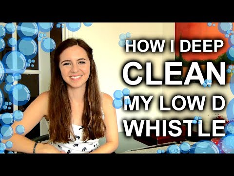 How To Clean Your Low D Whistle, Tin Whistle or Pennywhistle