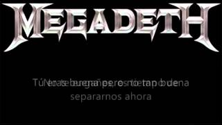 Megadeth - 1000 Times GoodBye Subtitulado Al Español