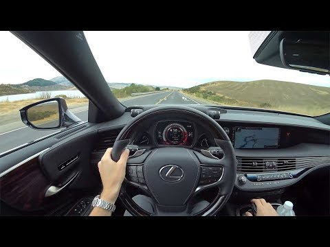 2018 Lexus LS 500 RWD w/Executive Package - POV Test Drive