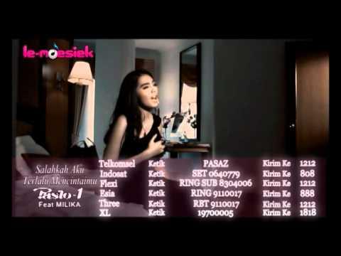 PASTO 1 Feat Milika - Salahkah Aku Terlalu Mencintaimu [ Official Music Video ]