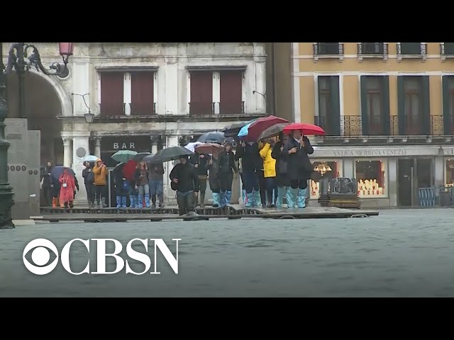 Venice, Italy copes with the worst flooding in 50 years