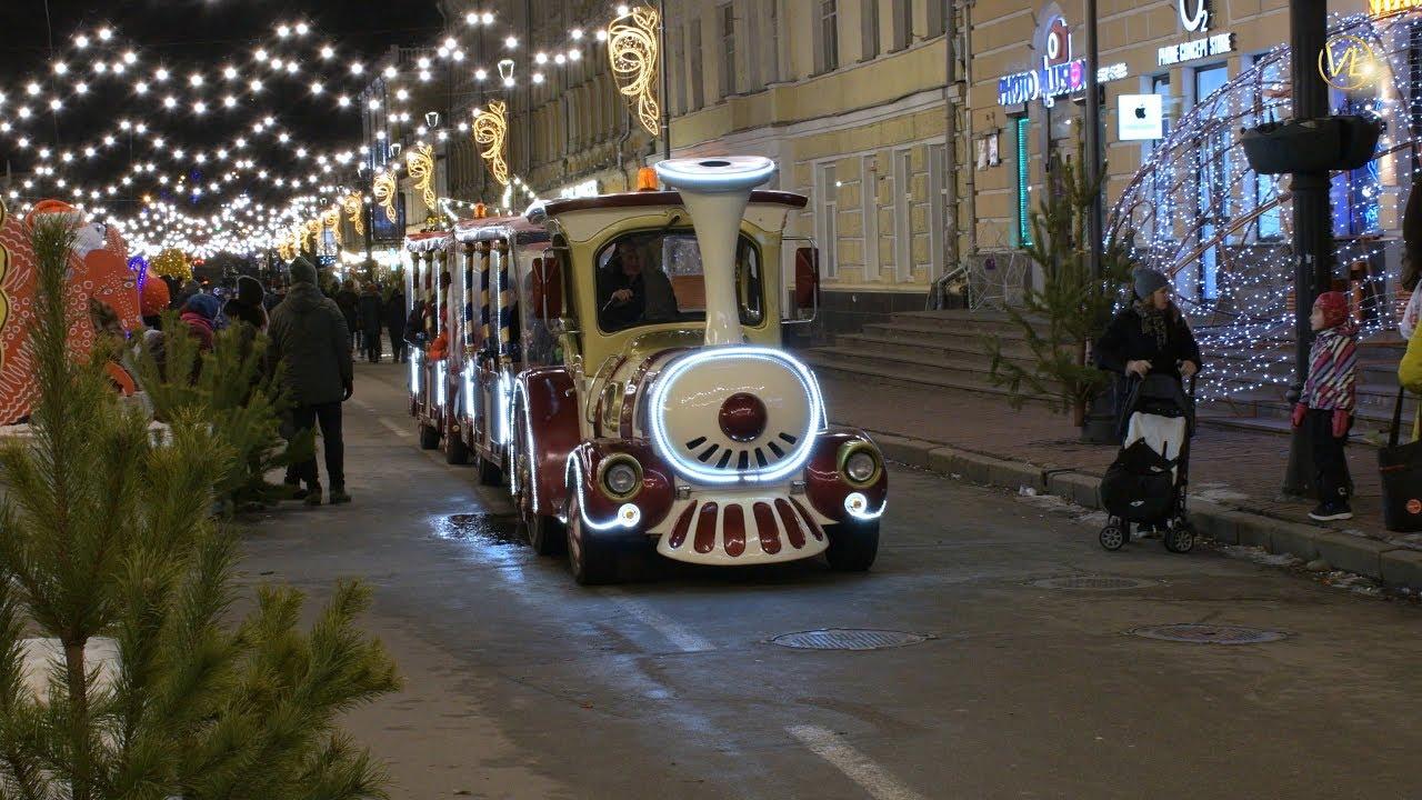 КИЕВ ПОДОЛ // Новый год 2019 / Video 4k - YouTube
