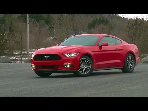 2015 Ford Mustang EcoBoost - TestDriveNow.com Review by Auto Critic Steve Hammes | TestDriveNow