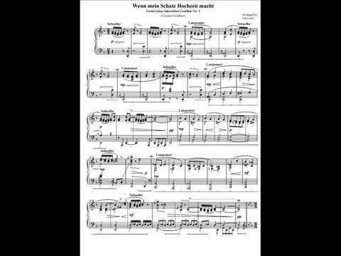 Lieder eines fahrenden Gesellen No.1 (piano solo) Gustav Mahler