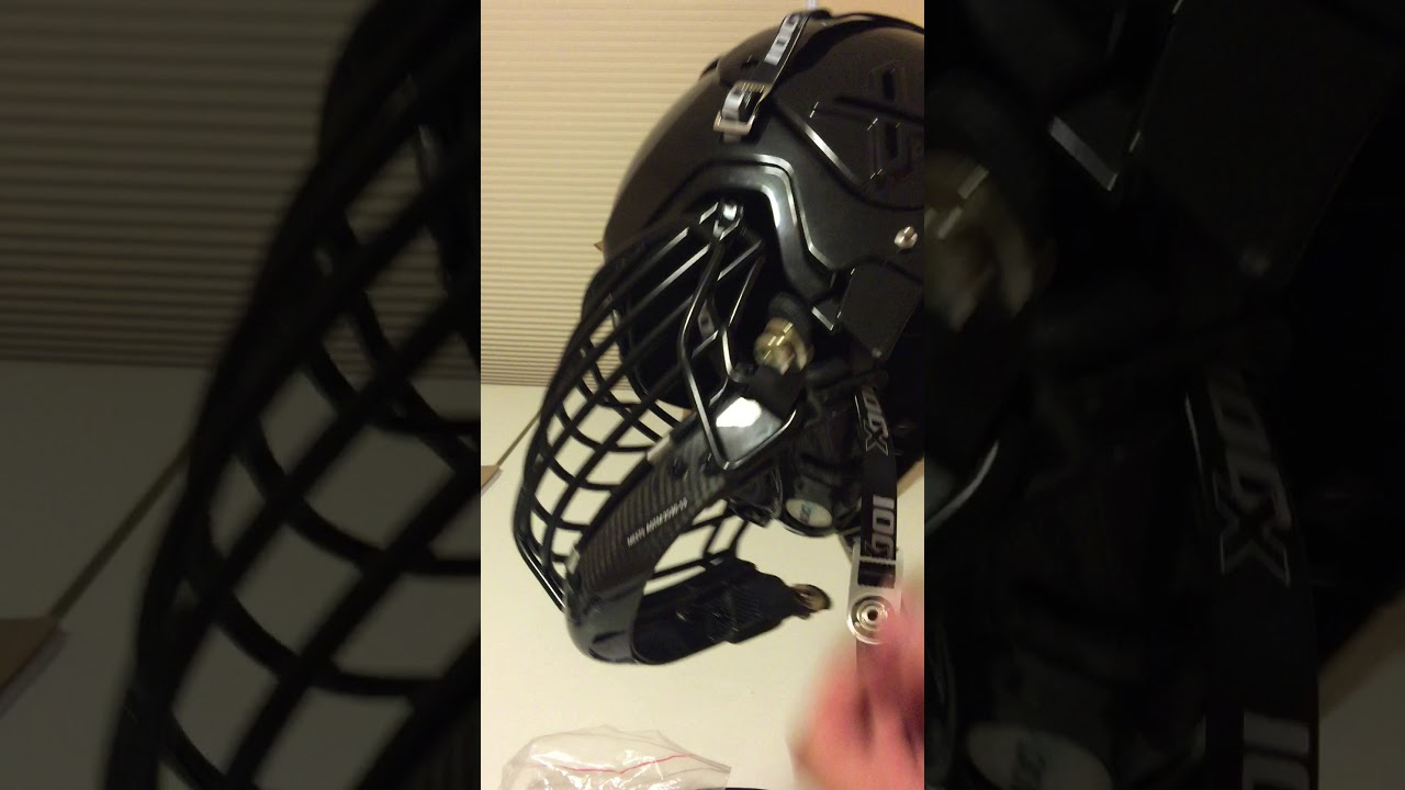 Bull riding helmet
