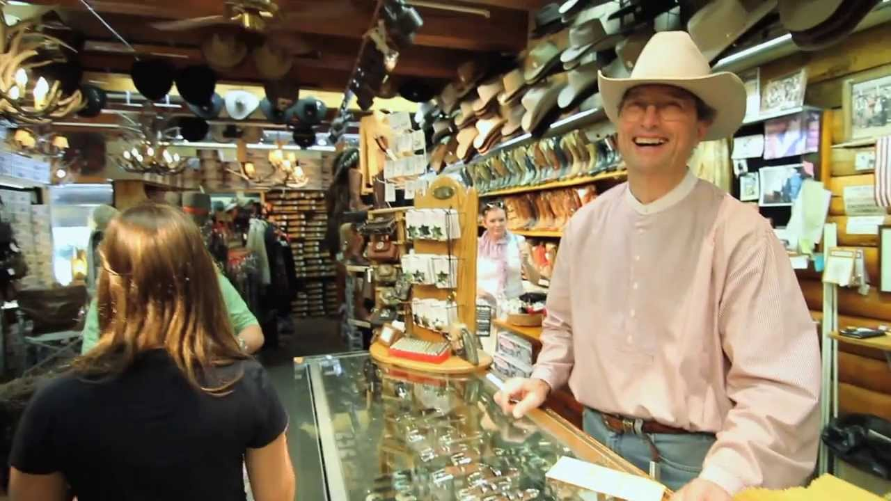 c94e44d89e3 Amex Commercial for Beaver Creek Hats and Leather - YouTube