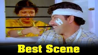 Vazhkai Chakkaram Movie : Sathyaraj And  Gouthami funny Love Scene