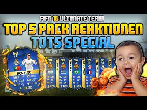 FIFA 16: 99 RONALDO IM PACK!! Top 5 Pack Reaktionen der Woche #34