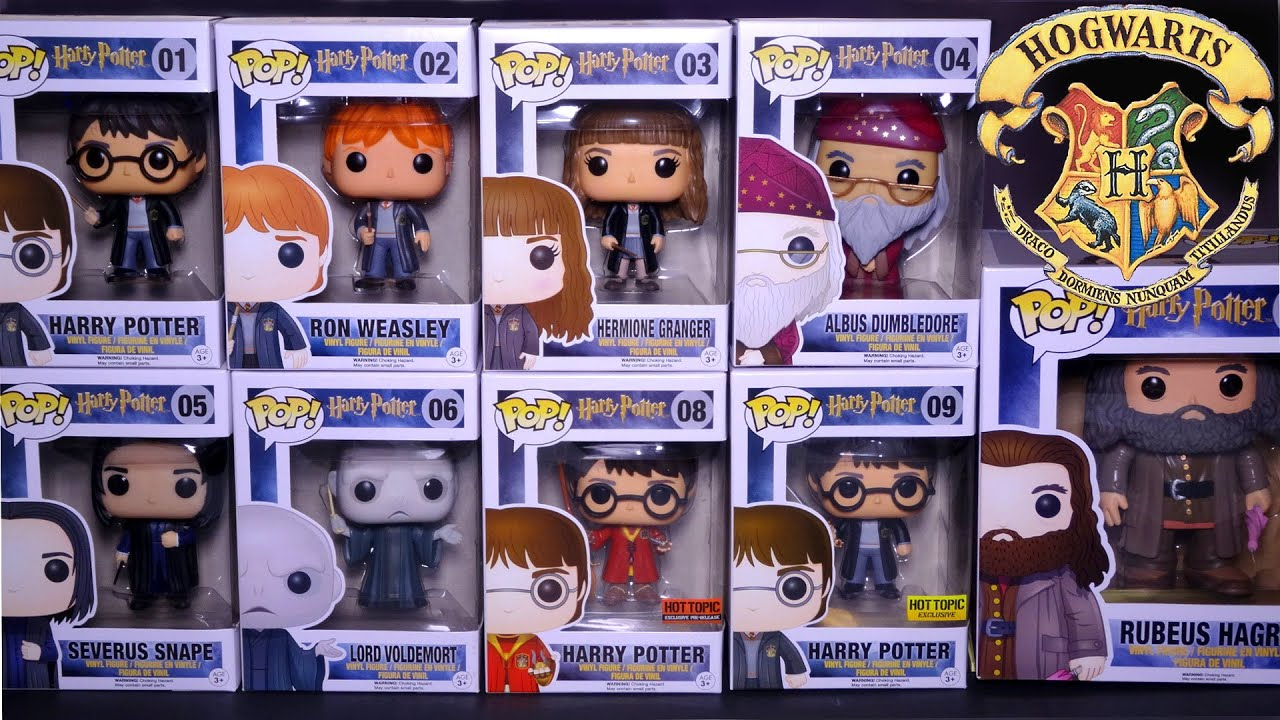 f5081f766ed Opening  Harry Potter POP! Complete Set Series 1! ~ 9 Funko Pops ...