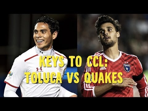 Keys to CCL: Toluca vs San Jose Earthquakes