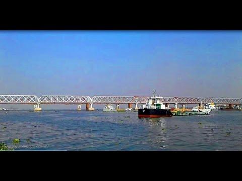 Bhairab port terminal & Railway Bridge Bhairab Upazila Kishoreganj Dhaka Bangladesh