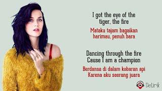 Roar - Katy Perry (Lirik Lagu Terjemahan)