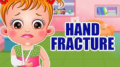 Baby Hazel Hand Fracture | Fun Game Videos By Baby Hazel Games