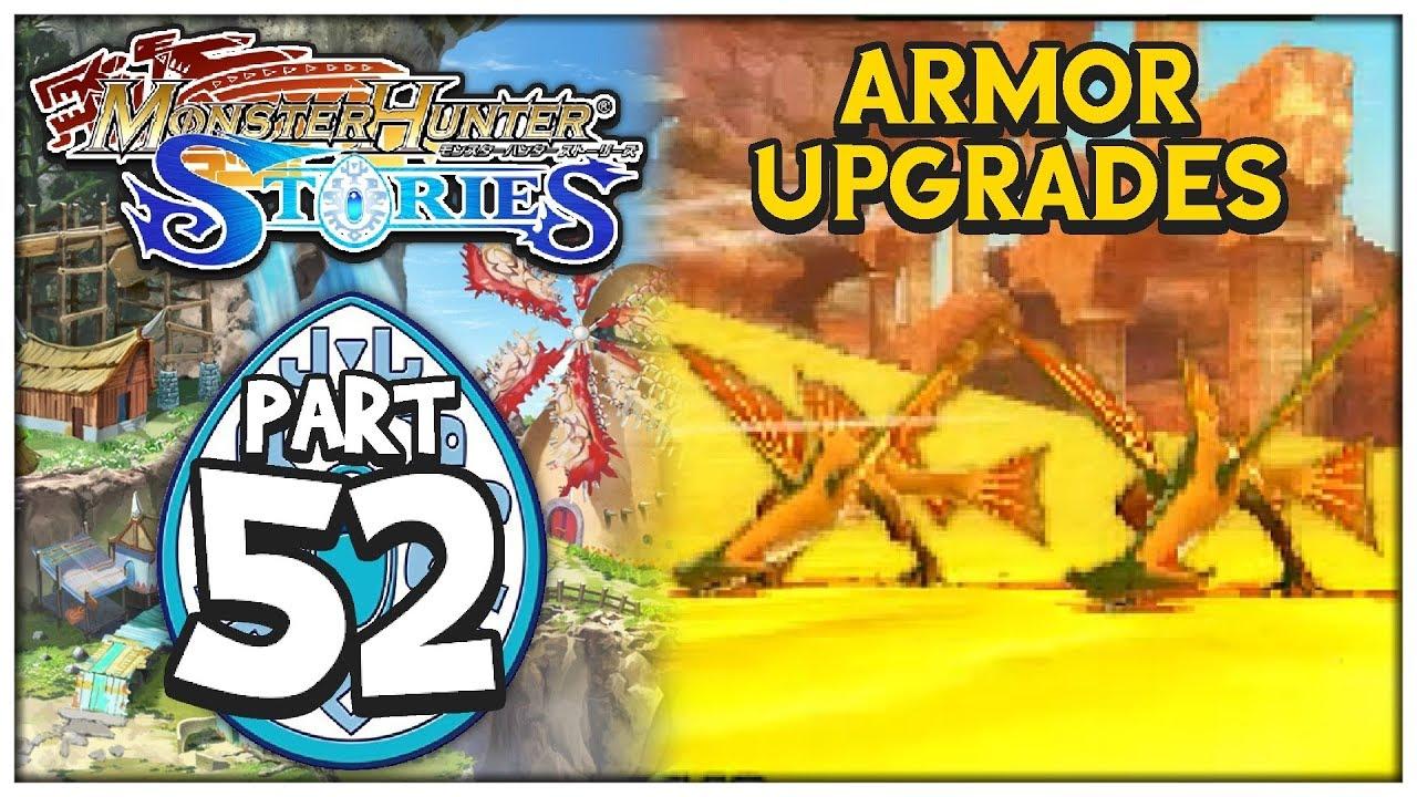 Armor Upgrades Monster Hunter Stories 52 Chaoticshadow24