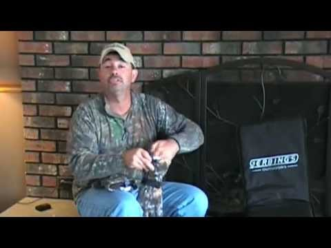 Gerbing's Camouflage Heated Hunting Gloves Demonstration