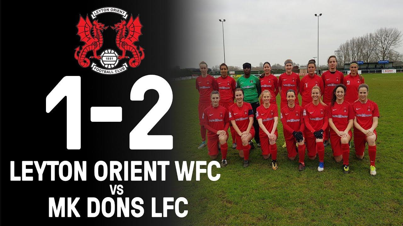 85df3b756fe Leyton Orient WFC vs Milton Keynes Dons LFC