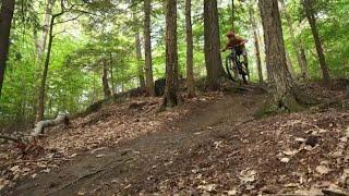 BERKSHIRE BIKE TOURS: DEERFIELD RIVER TRAILS. Charlemont, Massachusetts XC & Enduro Mountain Biking