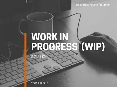Work In Progress (WIP) Calculation Demonstration