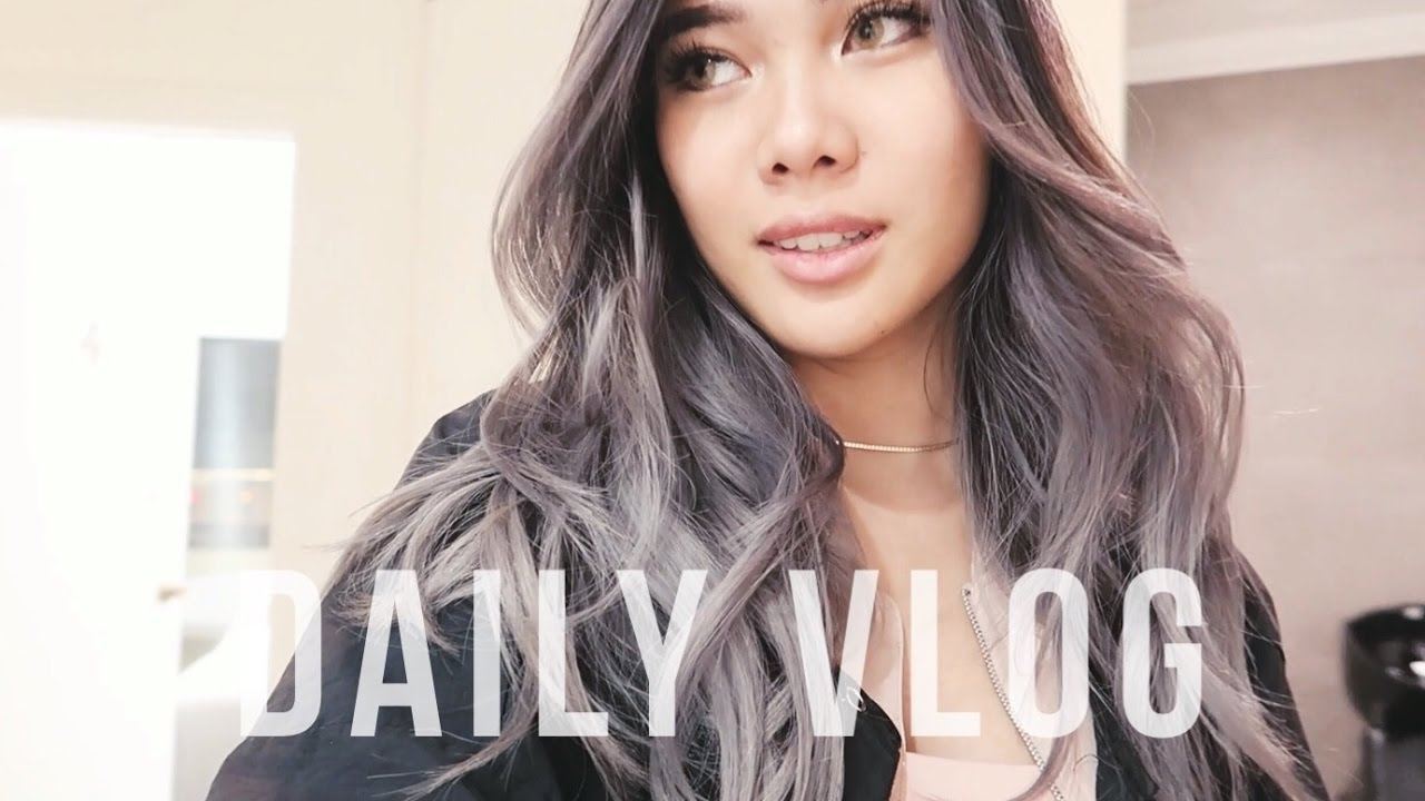Vlog 24 New Hair Color Bahasa Indonesia Youtube