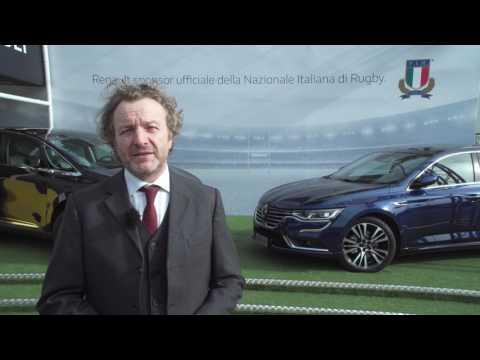 Renault Italia è sponsor ufficiale della Nazionale italiana di rugby