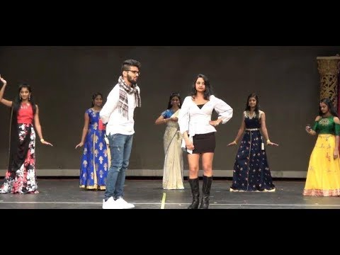 Awesome dance performance on Mix Telugu songs by Cute girls and Vijay|Telugu Hit song