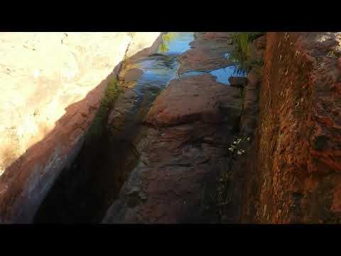 Strange Holes near Sacred Mountain